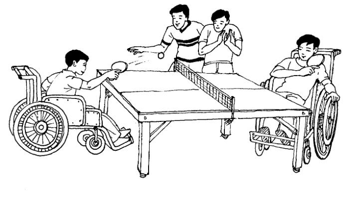 Một trong các giải pháp giúp đỡ người tàn tật hoà nhập với cộng đồng hữu hiệu nhất là tổ chức những hoạt động văn hóa, thể dục, thể thao