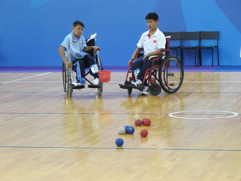 Mộng thấy người khuyết tật đang chơi thể thao